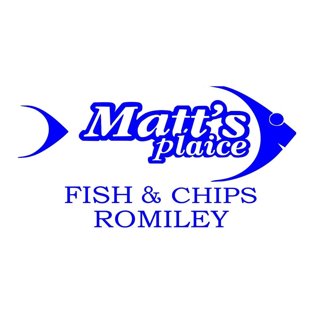 Matt's Plaice Logo
